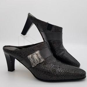 "Brighton ""Rhyme"" shoes, mules sz 7"